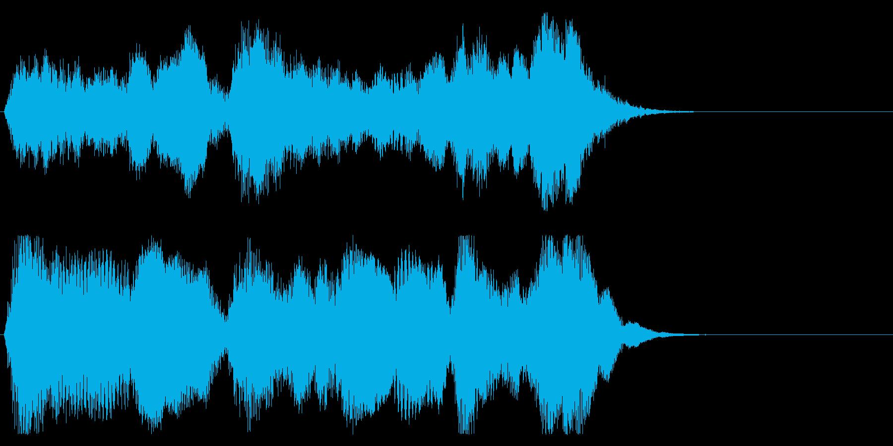 リザルトなどの再生済みの波形
