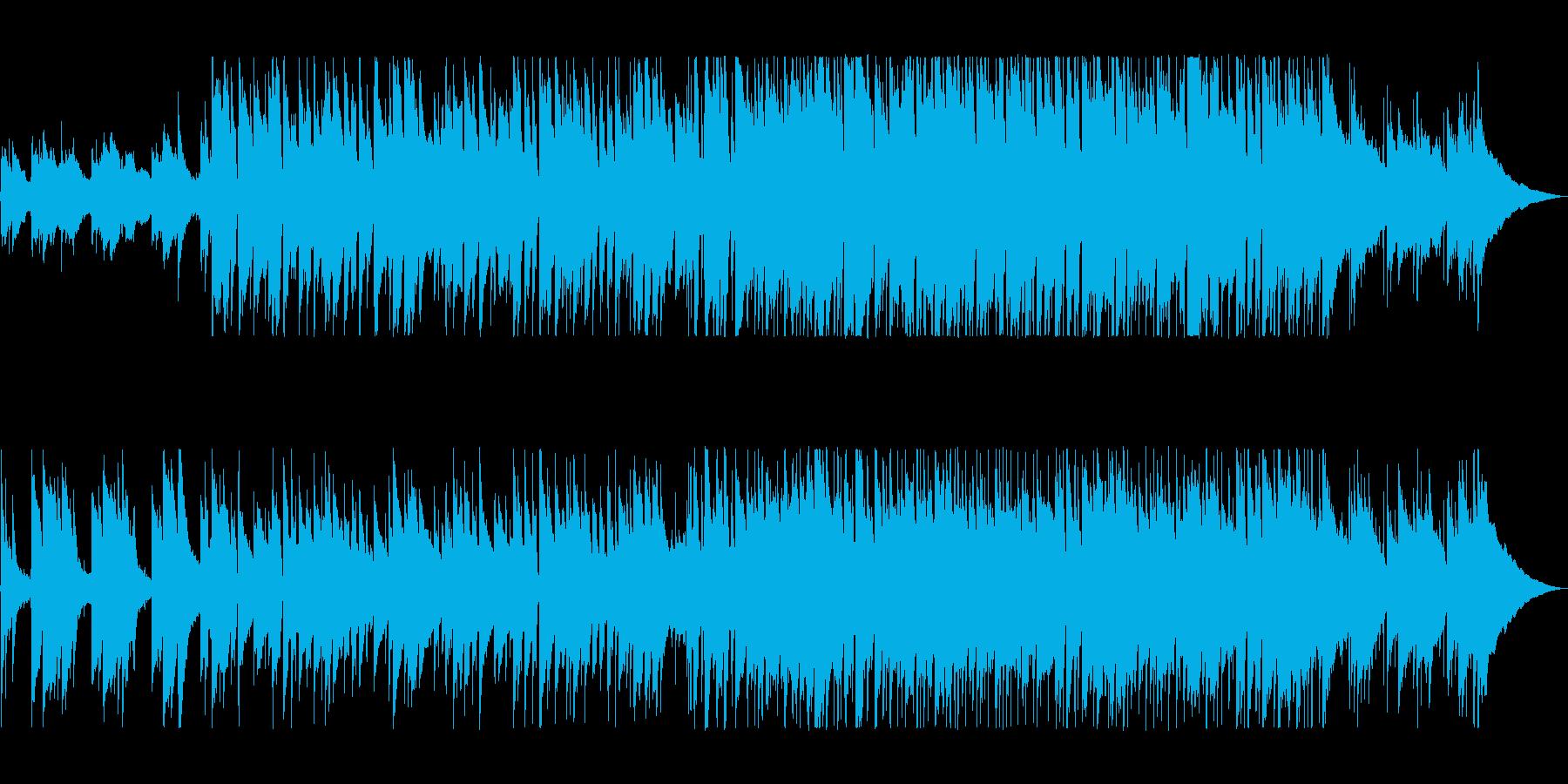 癒しのイージーリスニングの再生済みの波形