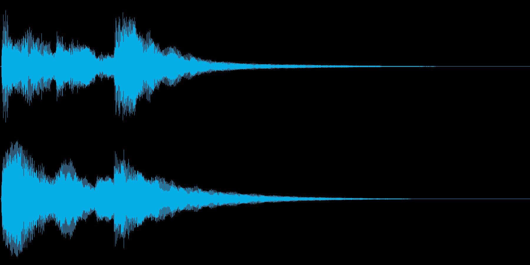 始まりのジングル の再生済みの波形