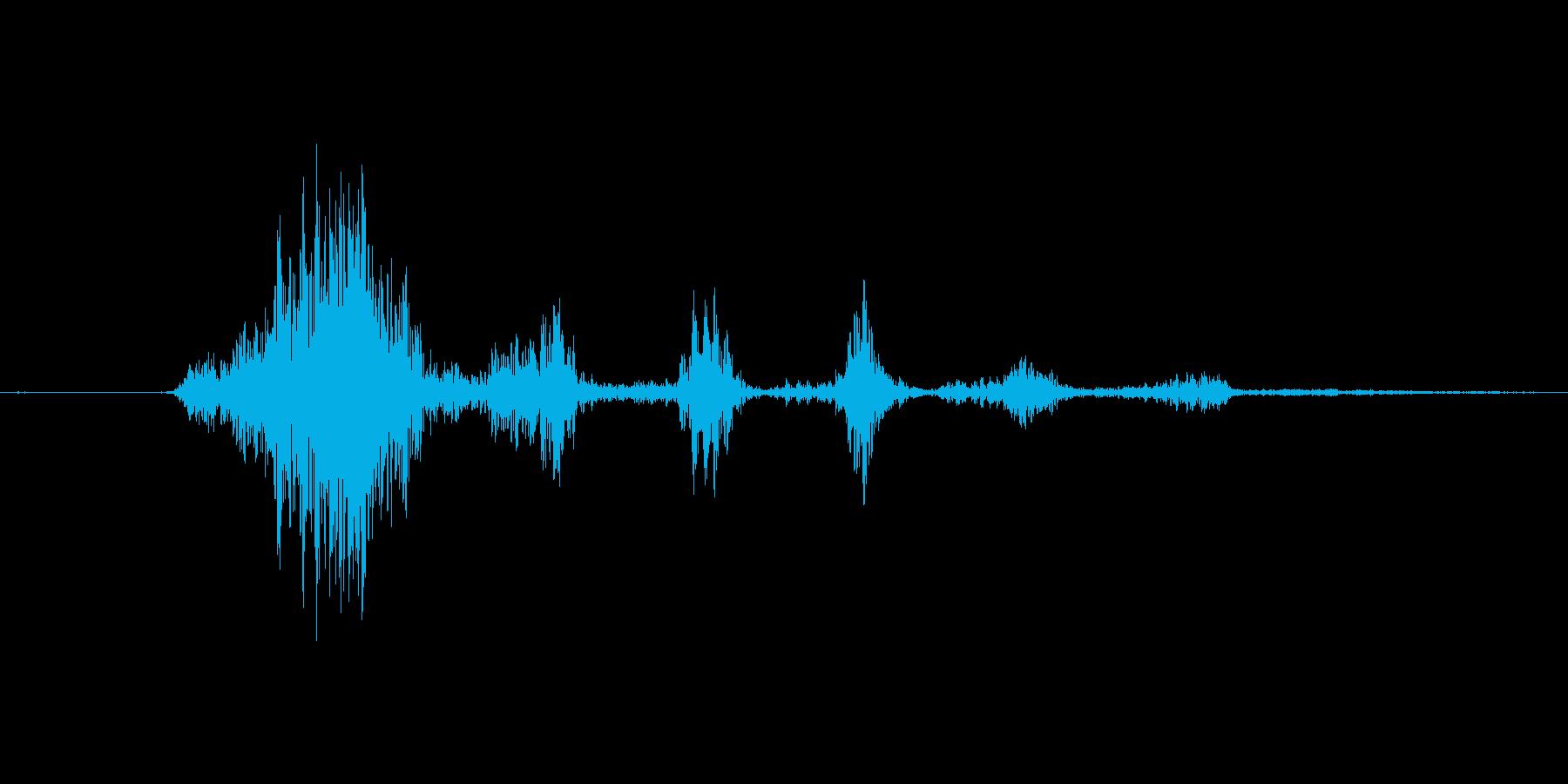 ガッハッハッハッハッハッの再生済みの波形
