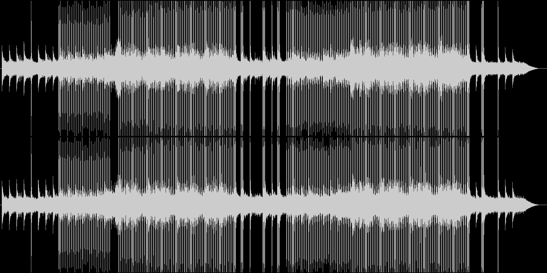 popなEDMの未再生の波形