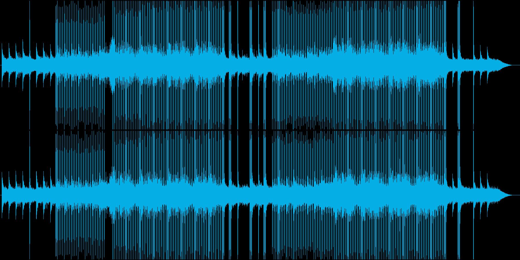 popなEDMの再生済みの波形