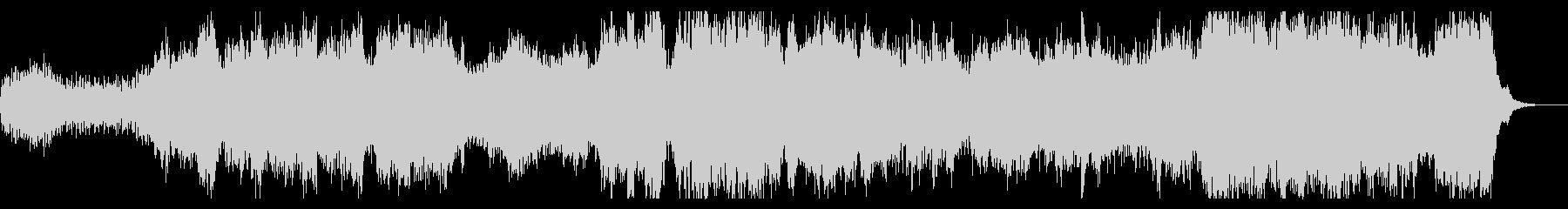 コーラス入りダークでシネマチックなBGMの未再生の波形