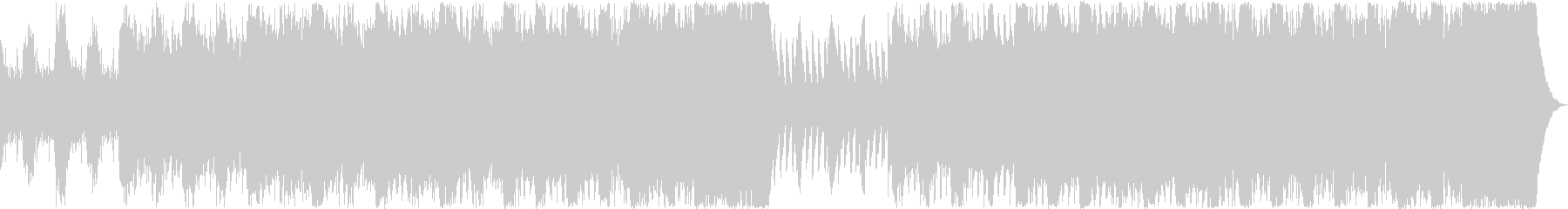 戦闘 緊迫 ゲーム オーケストラBGMの未再生の波形