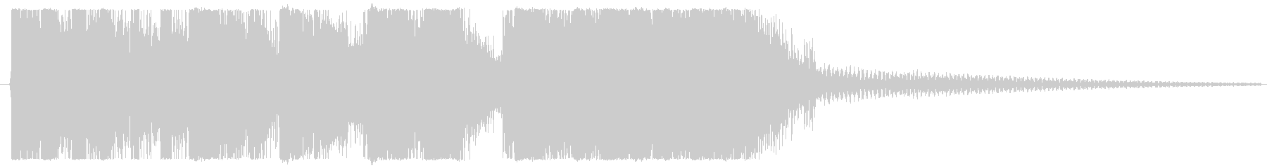 嬉しい・おしゃれ・かわいいファンファーレの未再生の波形