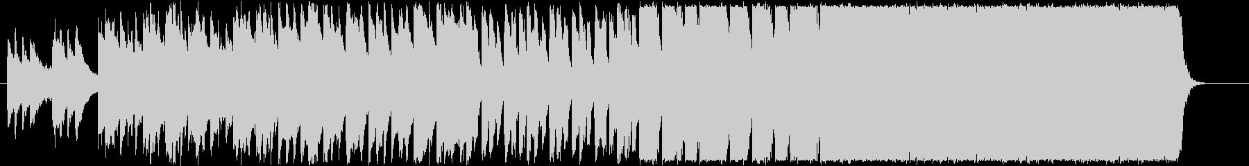 和風な星空をイメージした三拍子のBGMの未再生の波形
