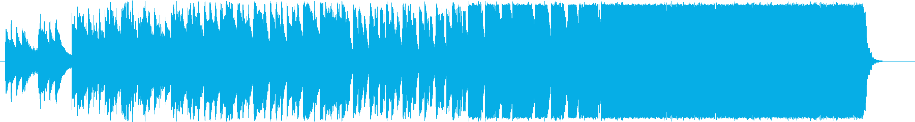 和風な星空をイメージした三拍子のBGMの再生済みの波形