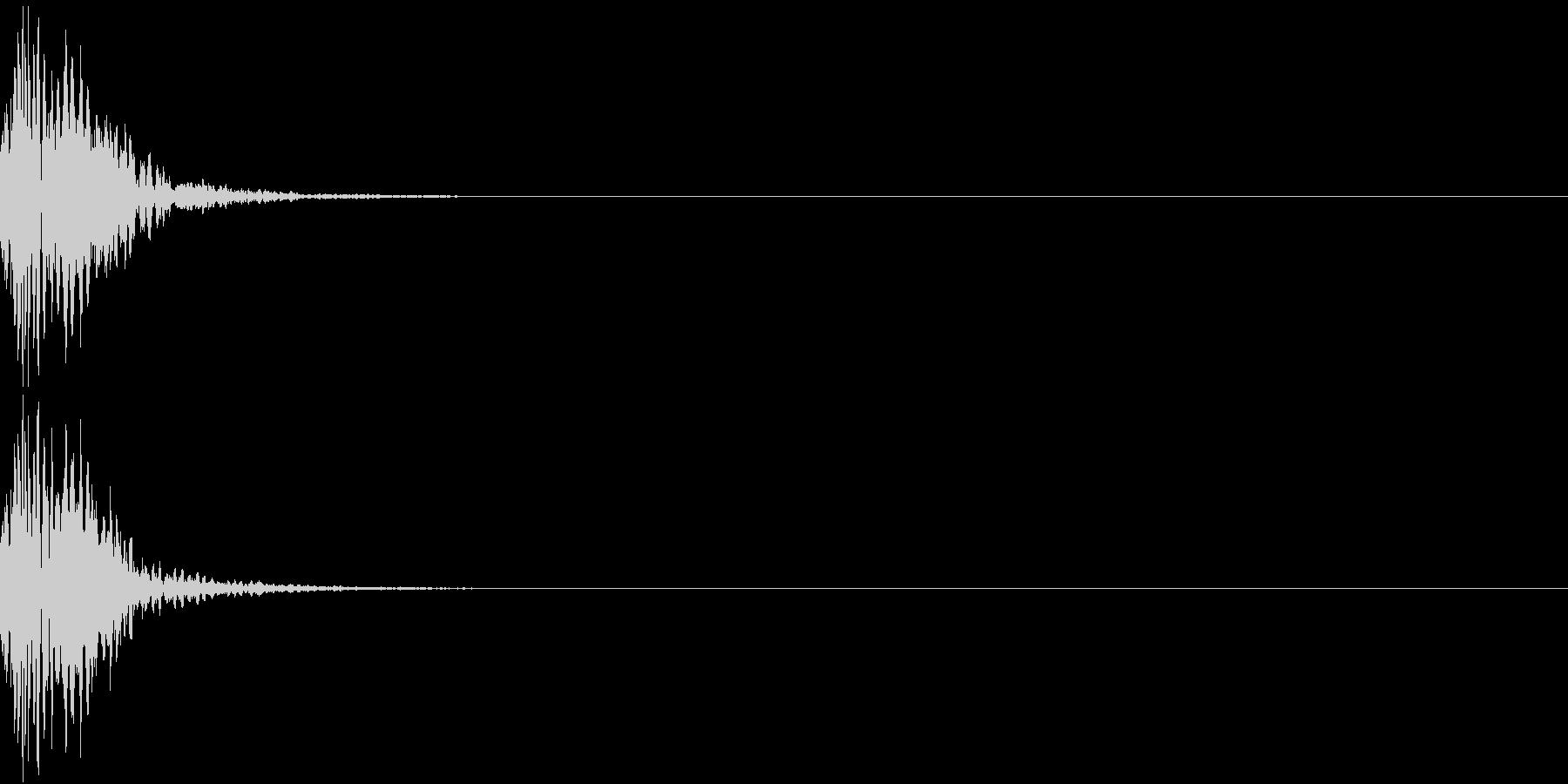 KAKUGE 格闘ゲーム戦闘音 37の未再生の波形