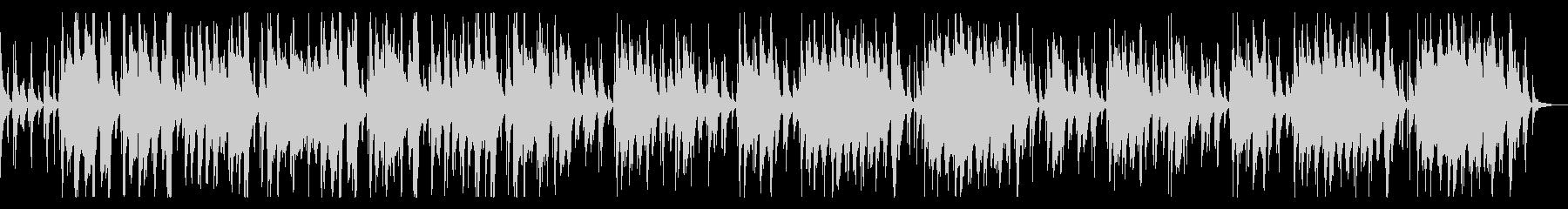 篠笛の明るい和風BGMの未再生の波形