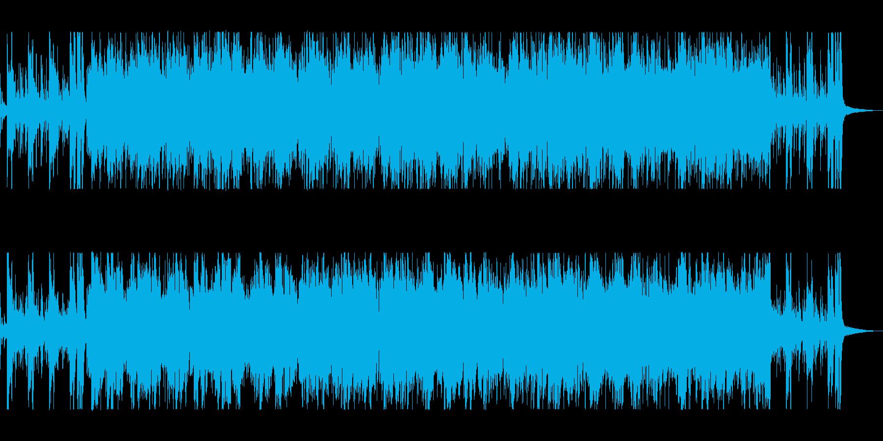 情熱的なフラメンコ・ジャズの再生済みの波形