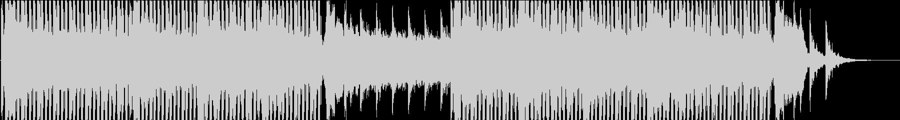 アンビエント系テクノ(WAV版)の未再生の波形