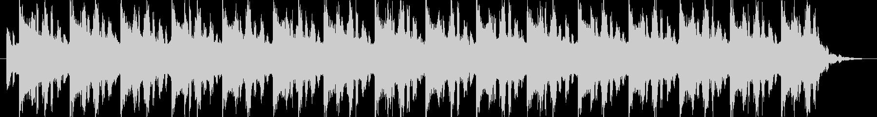 メカニックな場面のBGMの未再生の波形