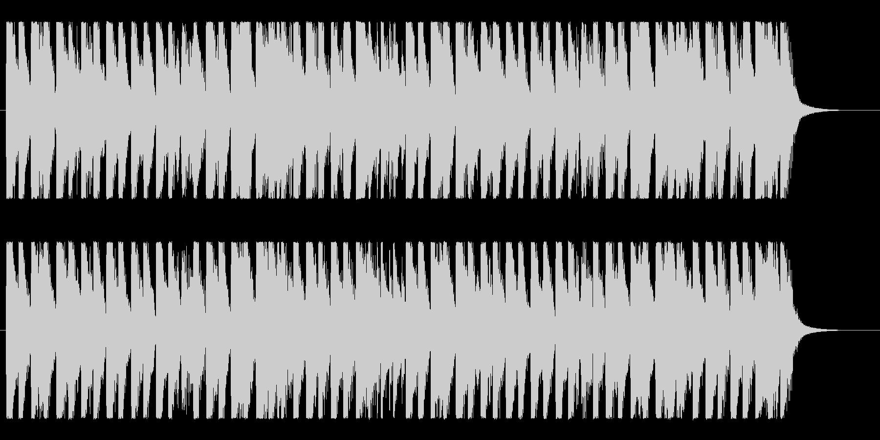 ハッピー&ポップ!明るいコーポレートロゴの未再生の波形