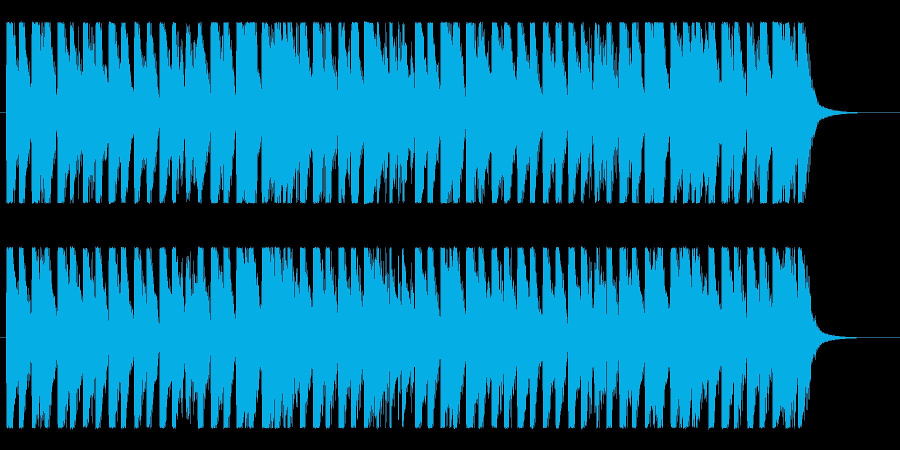 ハッピー&ポップ!明るいコーポレートロゴの再生済みの波形