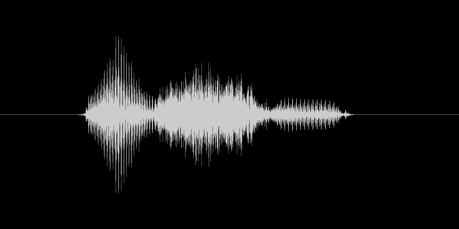 s,S,S(エス)の未再生の波形