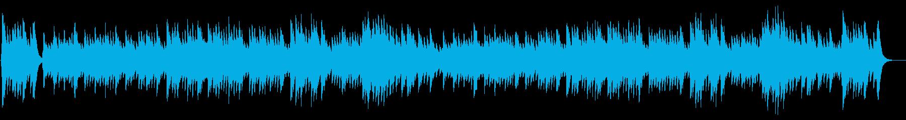 通りゃんせの再生済みの波形