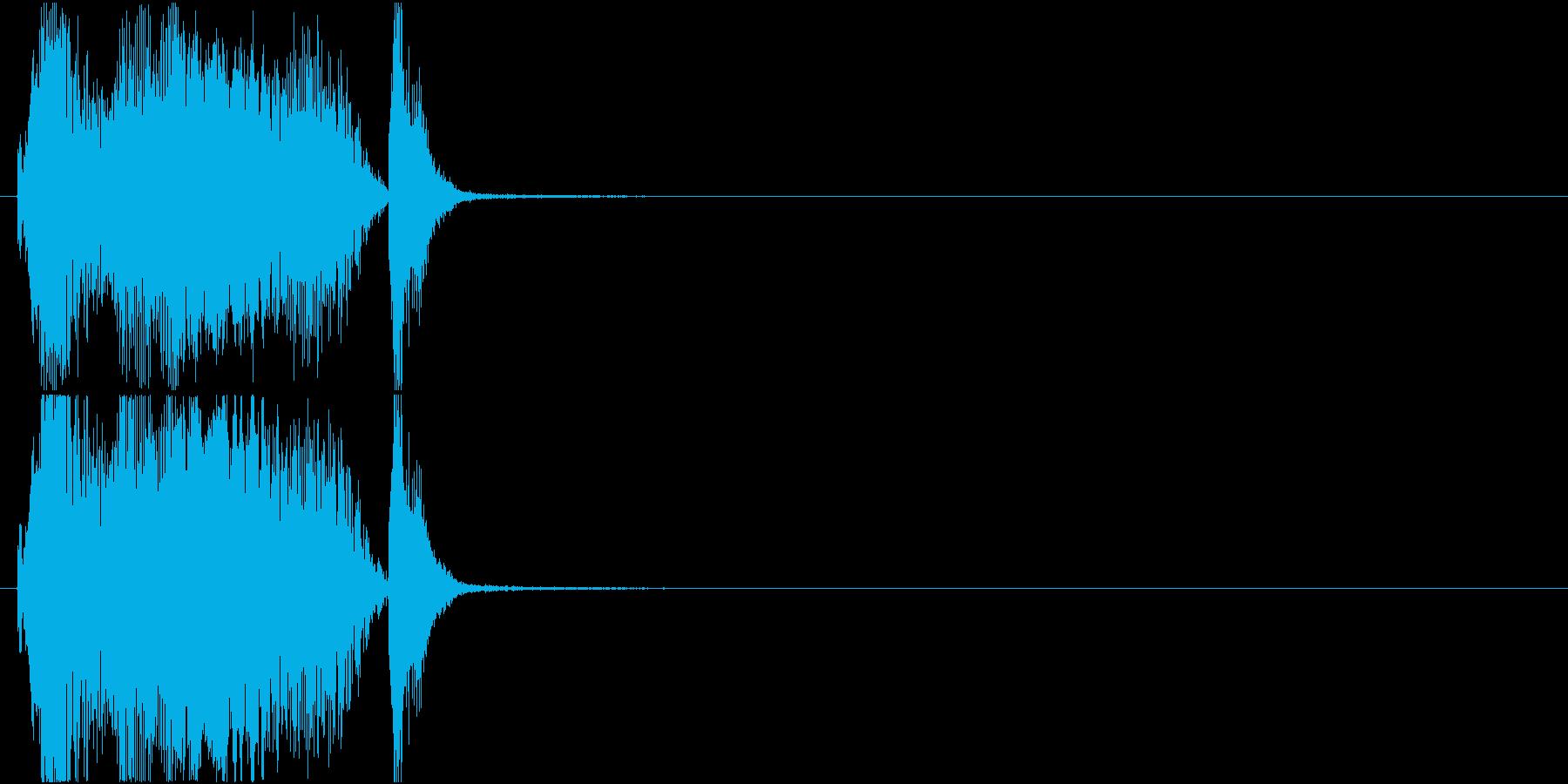 「グレイト」アプリ・ゲーム用の再生済みの波形