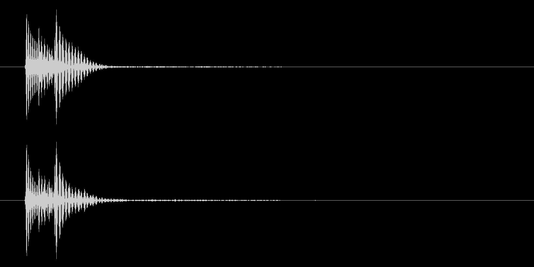 キャンセル(シンプル・決定・システム音)の未再生の波形