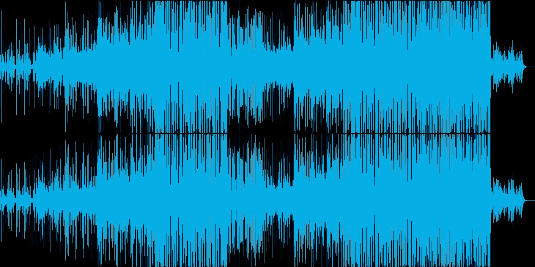 かわいい系フューチャーベースの再生済みの波形