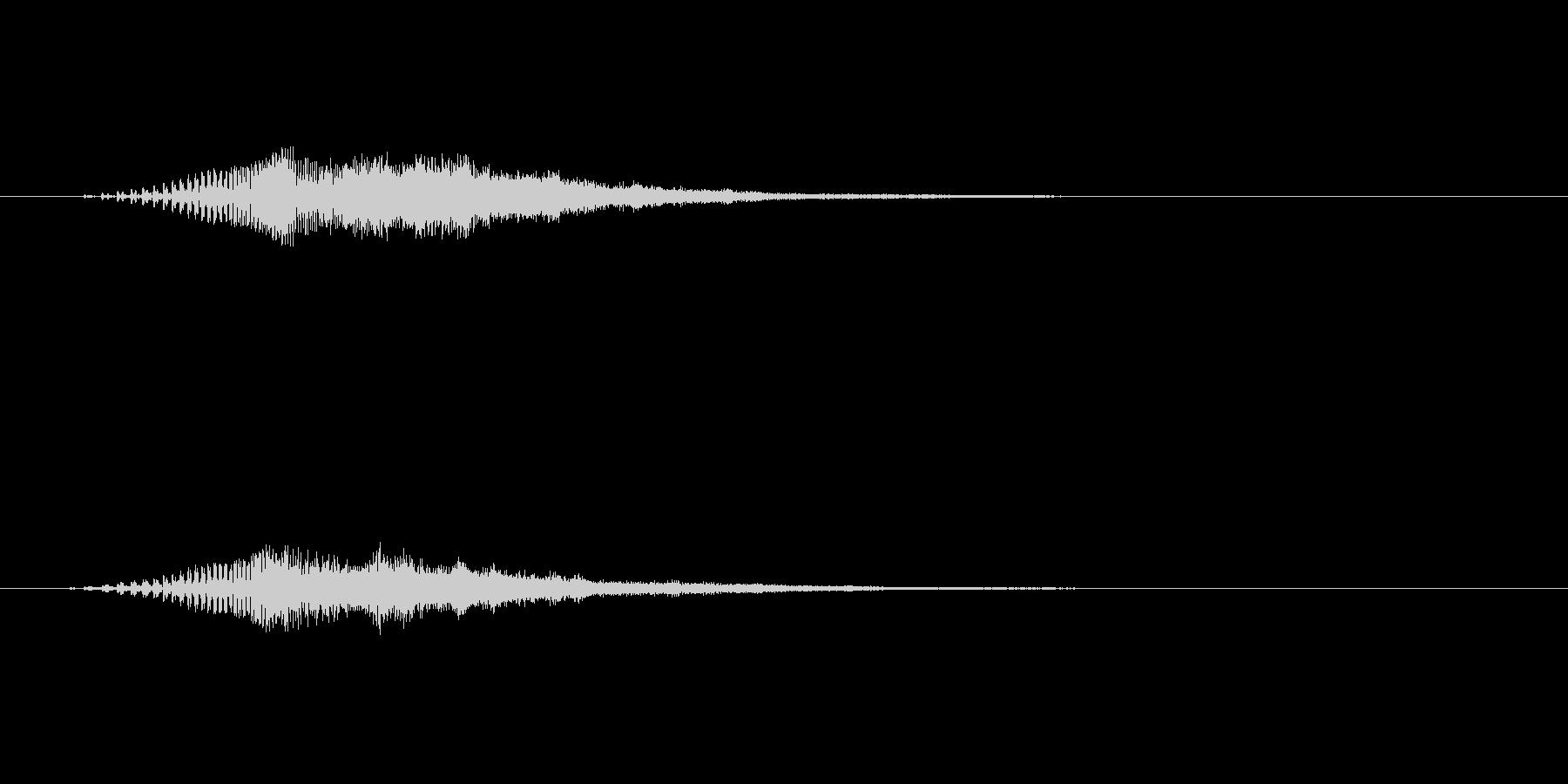 【ショートブリッジ06-up】の未再生の波形