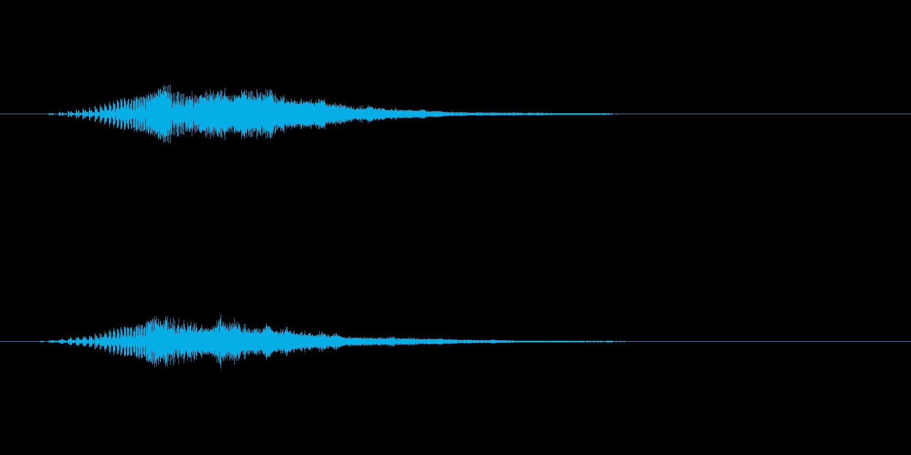 【ショートブリッジ06-up】の再生済みの波形
