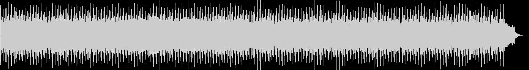 勢いのあるシンセサイザーポップの未再生の波形