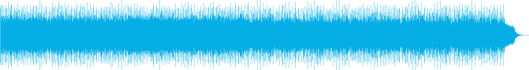 勢いのあるシンセサイザーポップの再生済みの波形