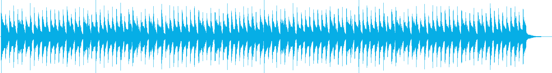 子供向けの陽気な雰囲気のジングル_ロングの再生済みの波形