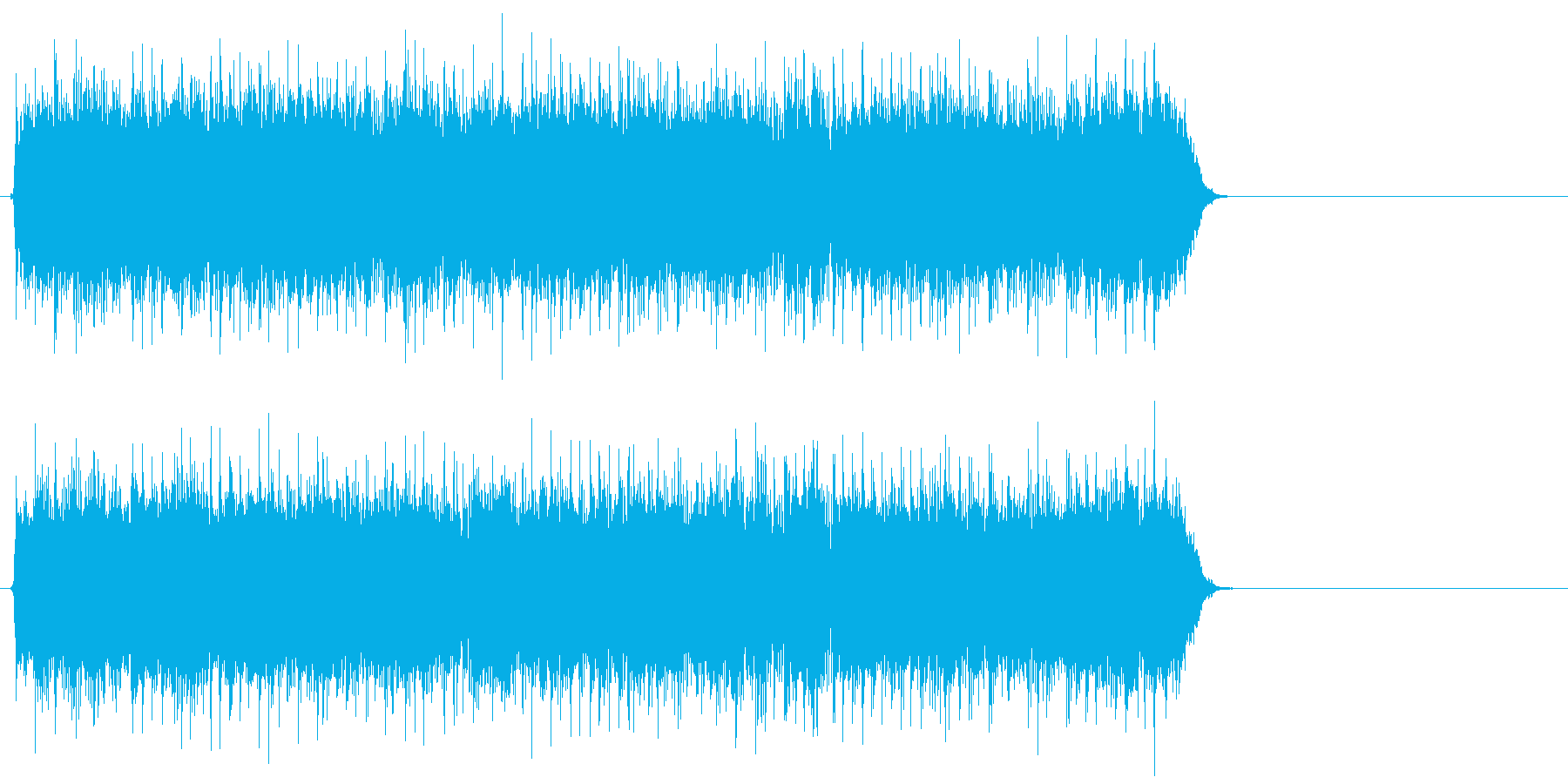 情熱的で爽やかなポップ(Bメロ)の再生済みの波形