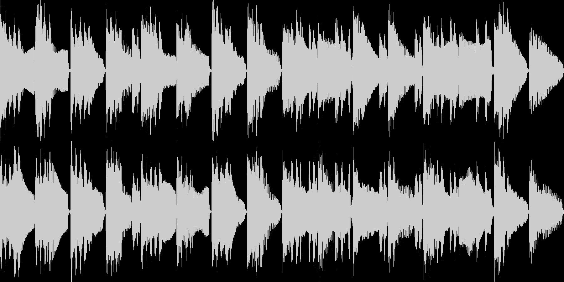 物思いに・ボーっとするBGM(ループ)の未再生の波形