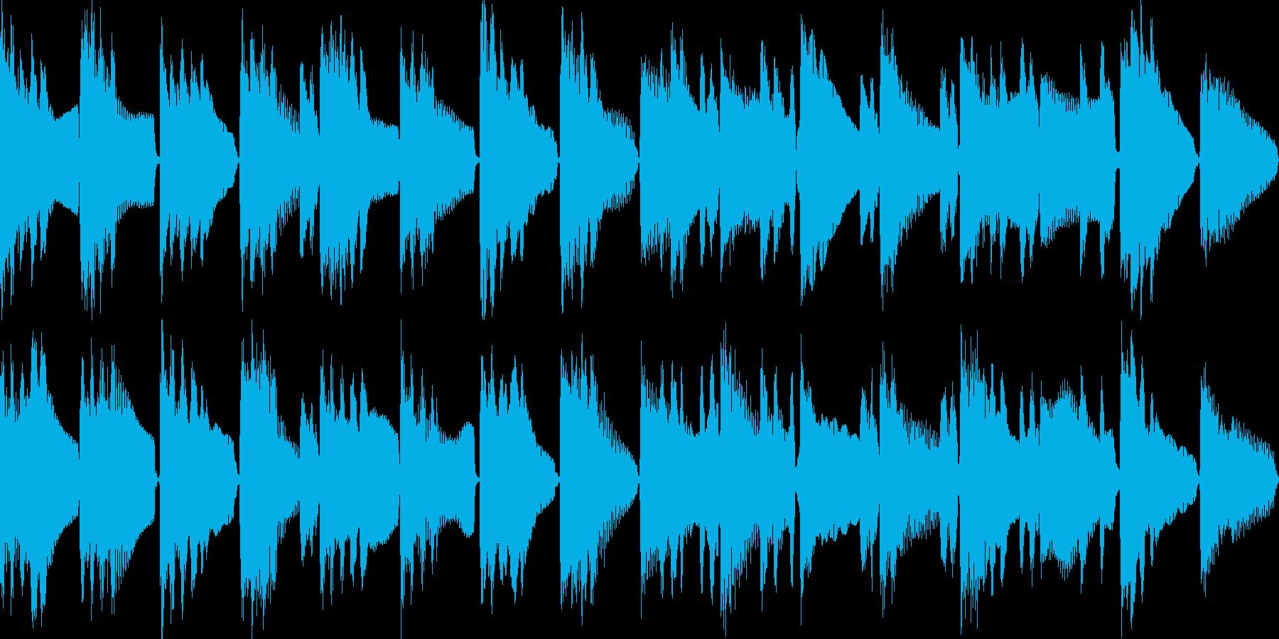 物思いに・ボーっとするBGM(ループ)の再生済みの波形