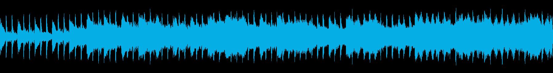 洞窟 FF風 ループの再生済みの波形