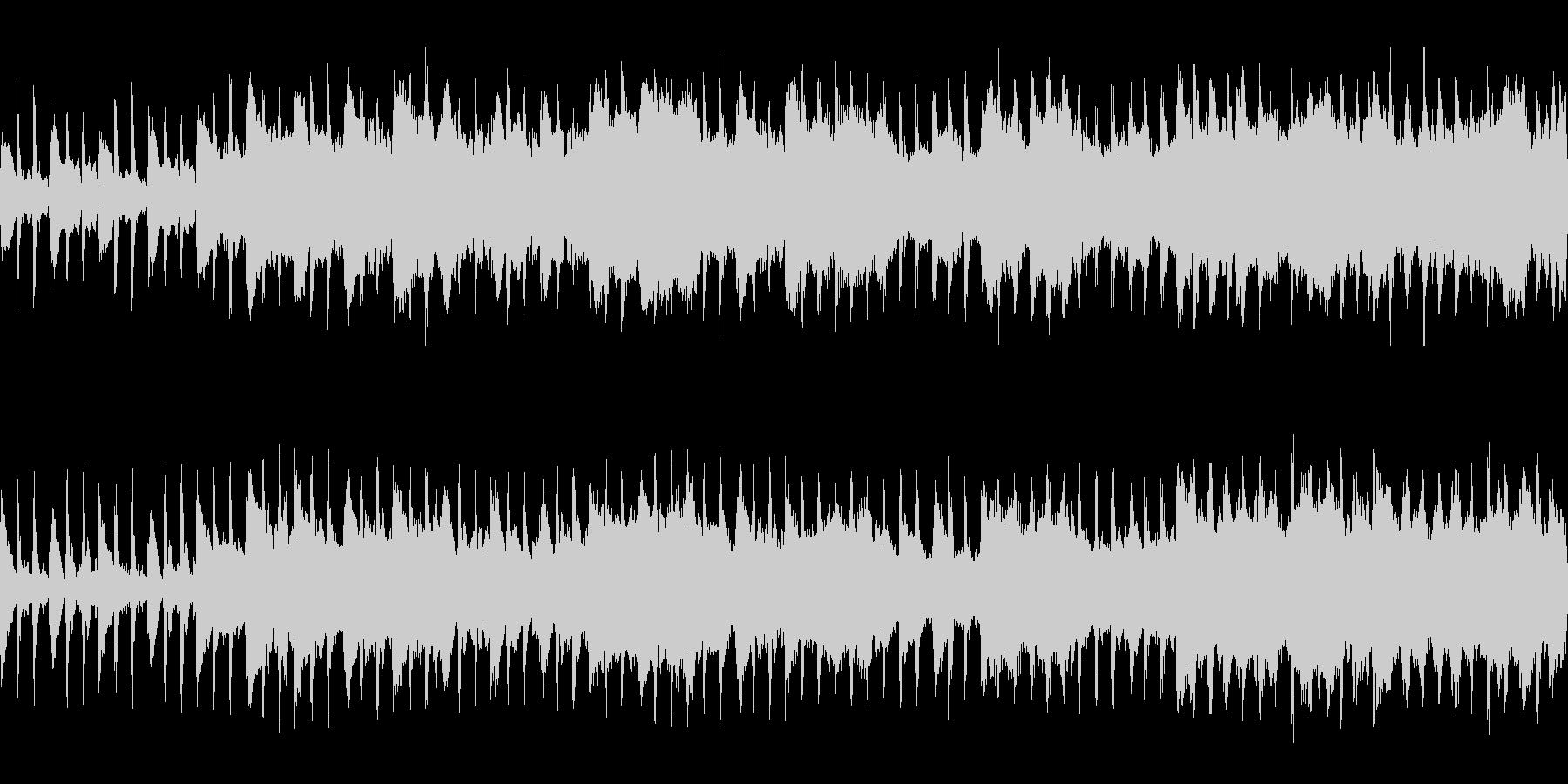 洞窟 FF風 ループの未再生の波形