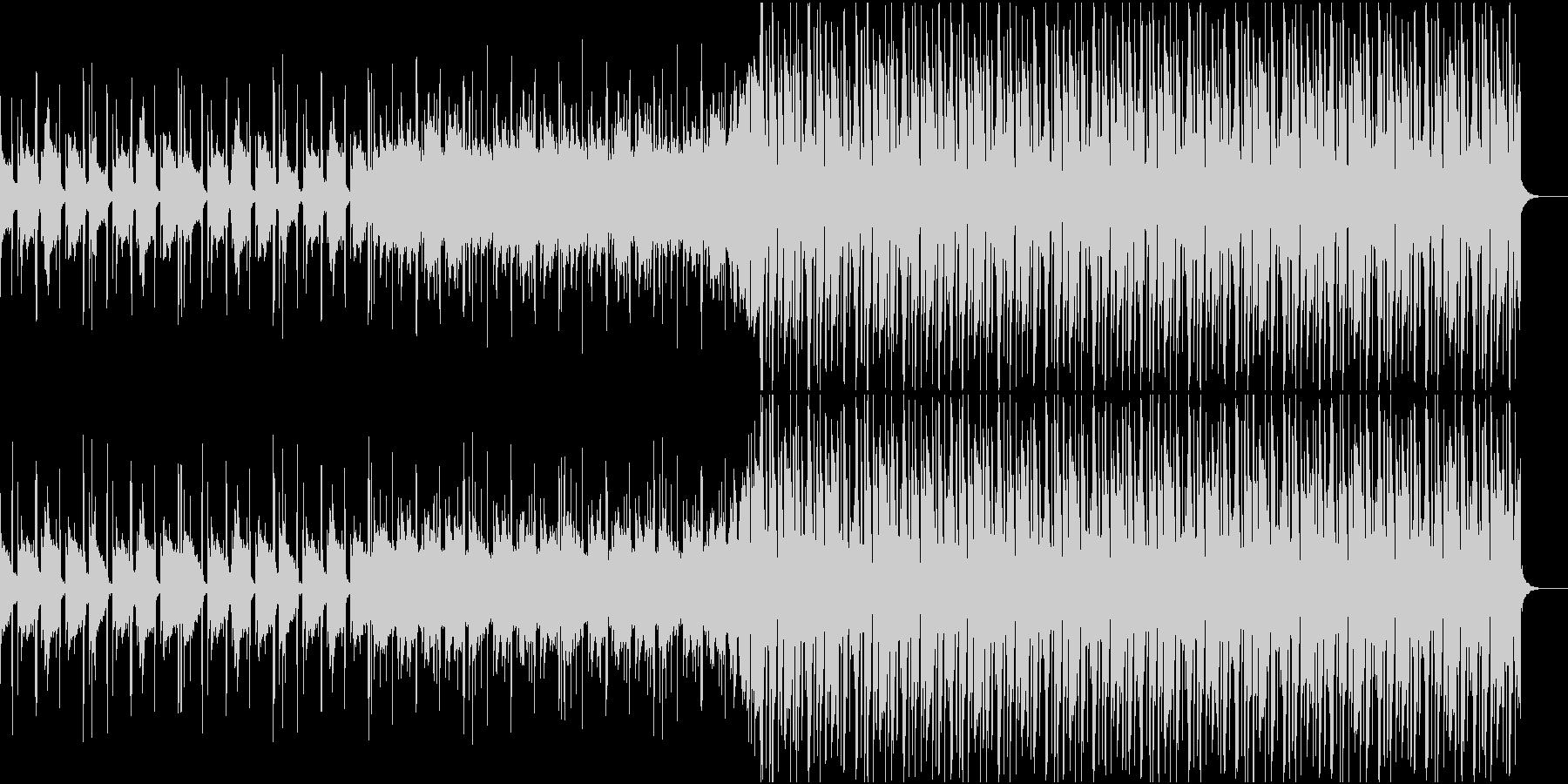 夕焼けが似合うトロピカルハウスの未再生の波形