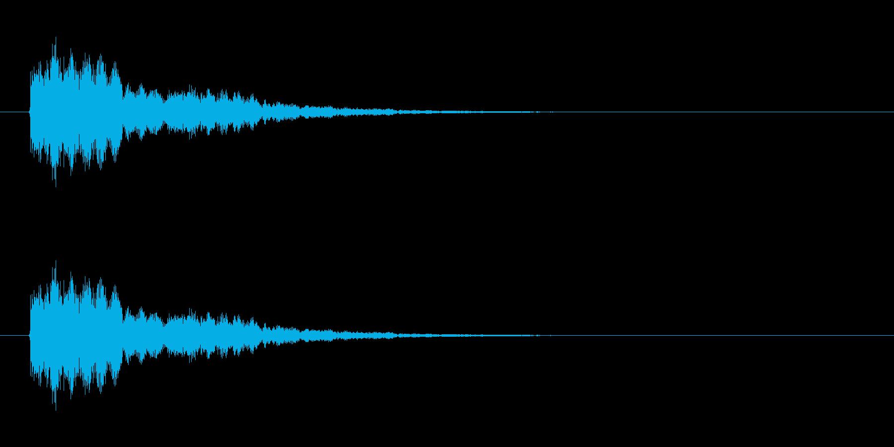 ウィンドチャイム3(シャララーン)の再生済みの波形