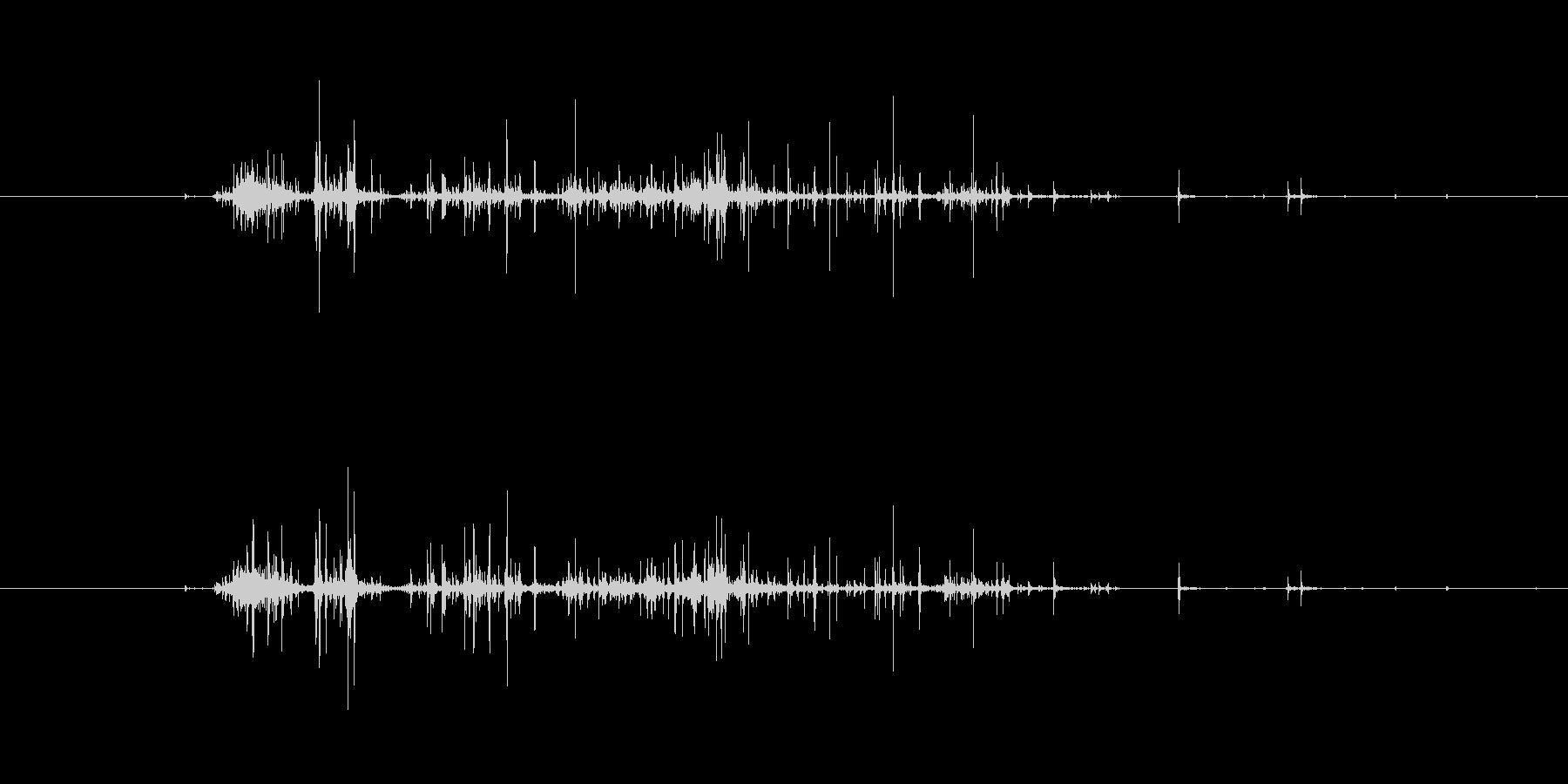 【生音】触れる・ナイロン - 2 「が…の未再生の波形