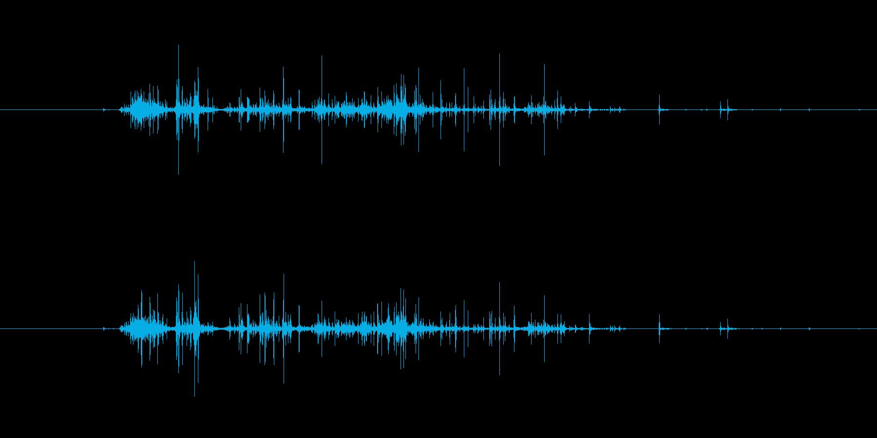 【生音】触れる・ナイロン - 2 「が…の再生済みの波形