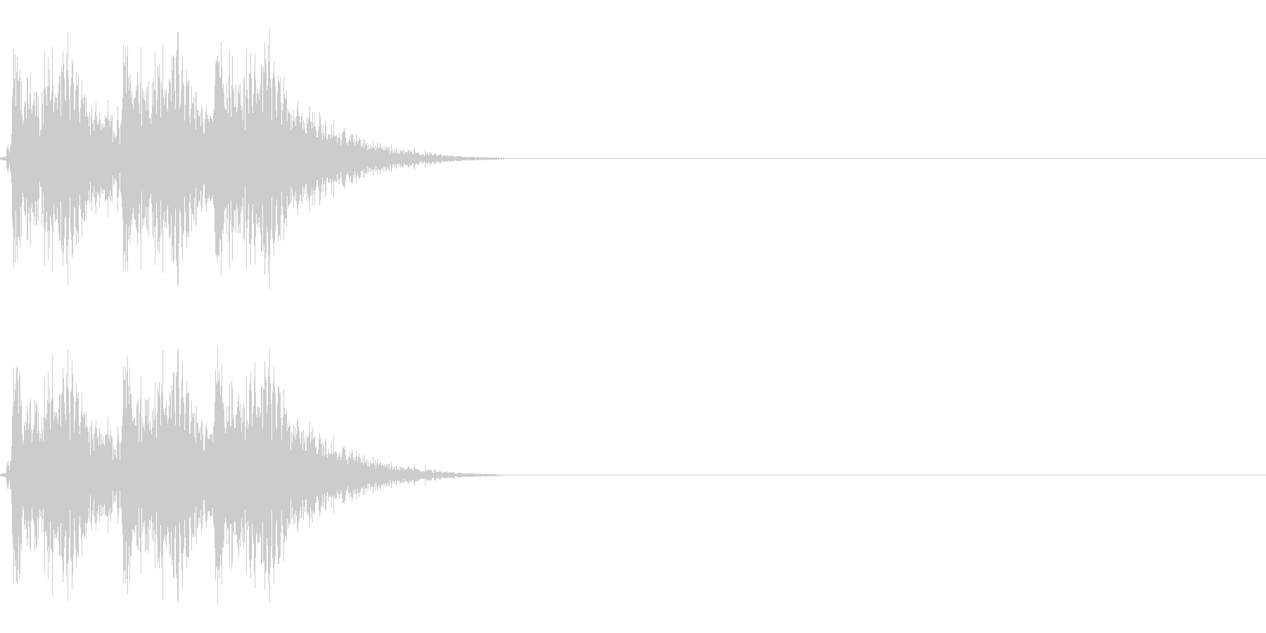 【打撃05-3】の未再生の波形