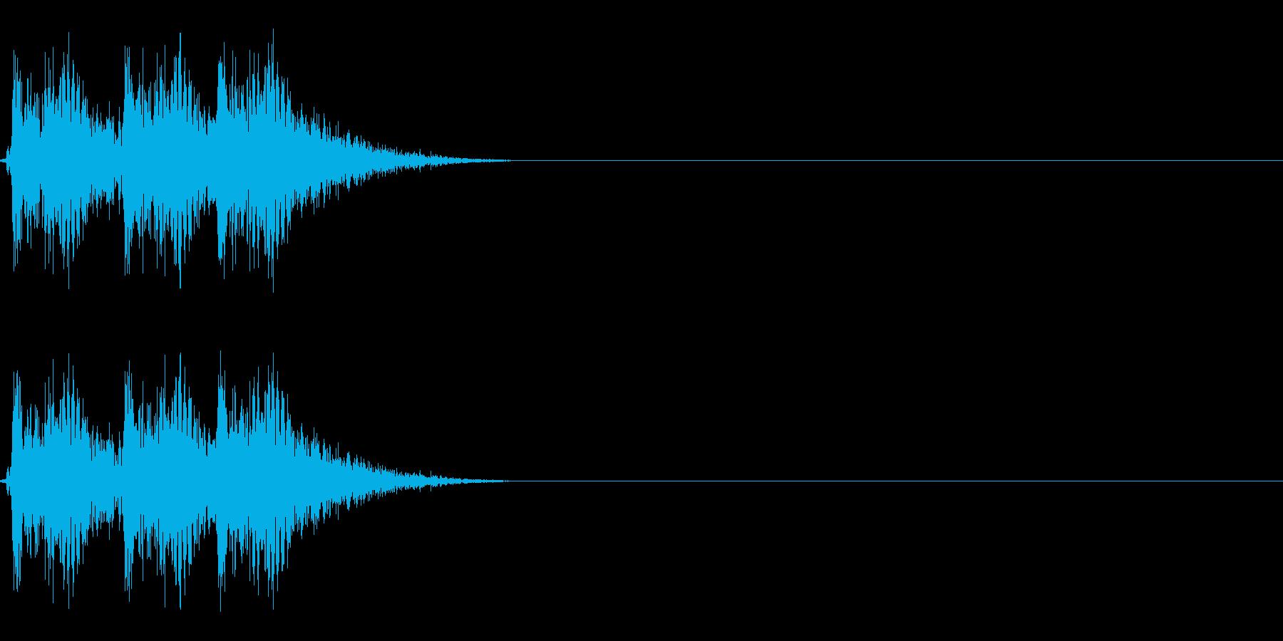 【打撃05-3】の再生済みの波形