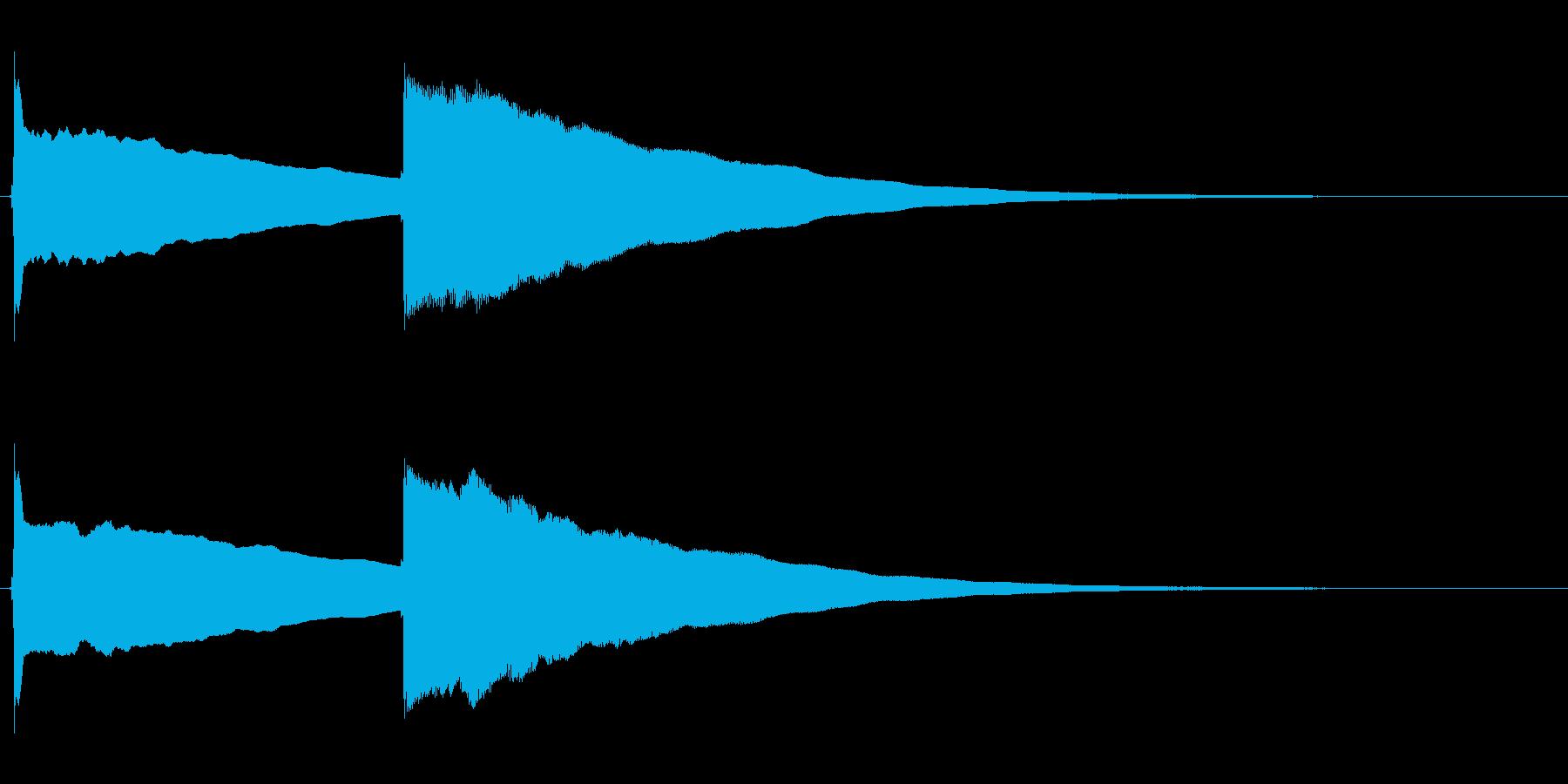 ピンポン (2)の再生済みの波形