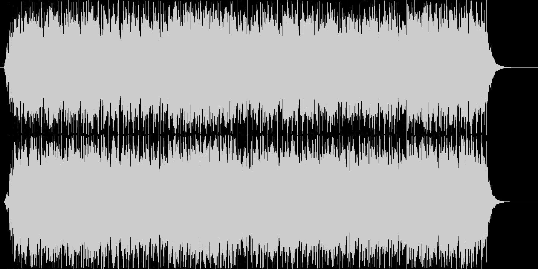 和風のピアノの優しく切ない曲の未再生の波形