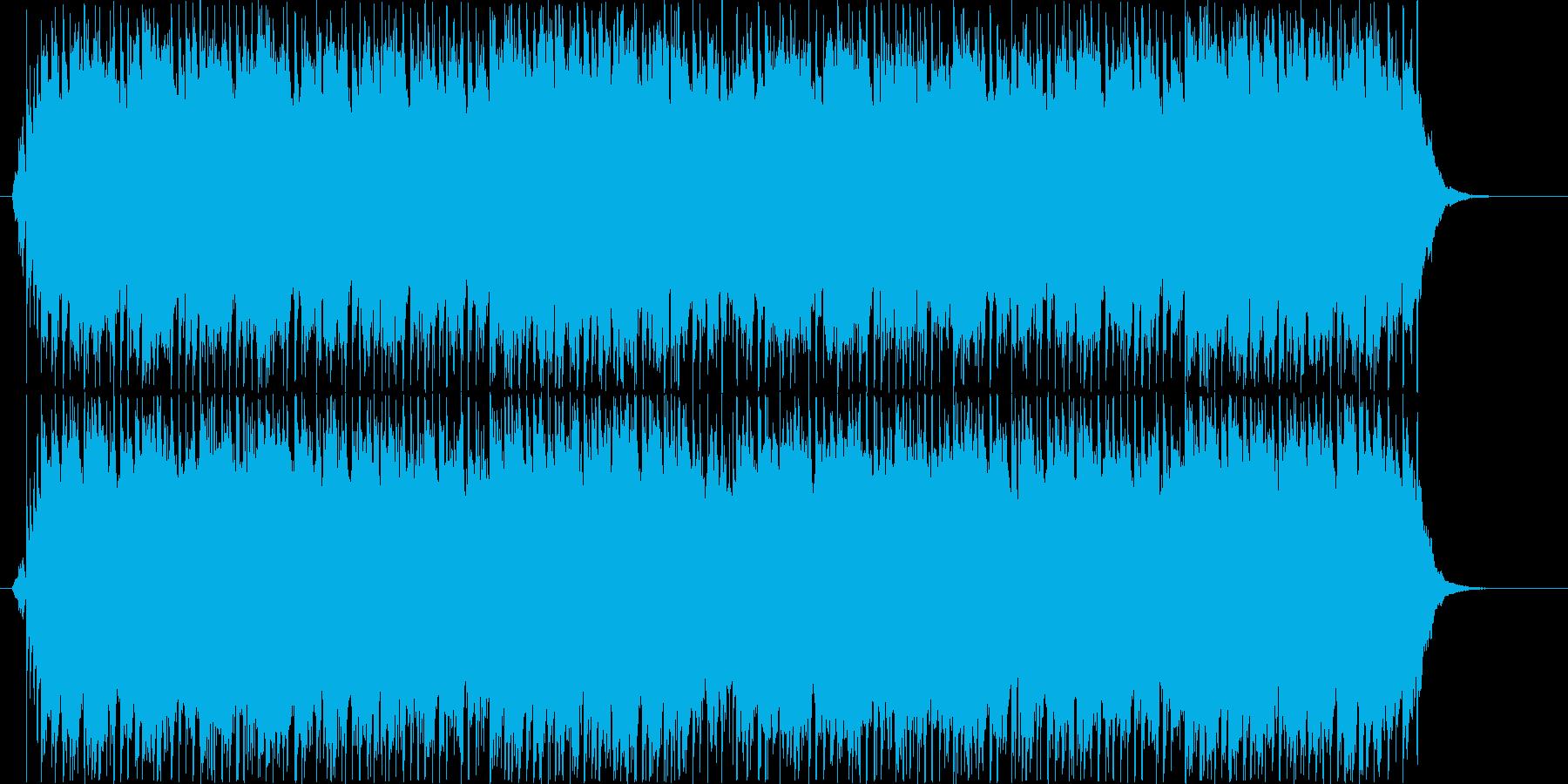 和風のピアノの優しく切ない曲の再生済みの波形