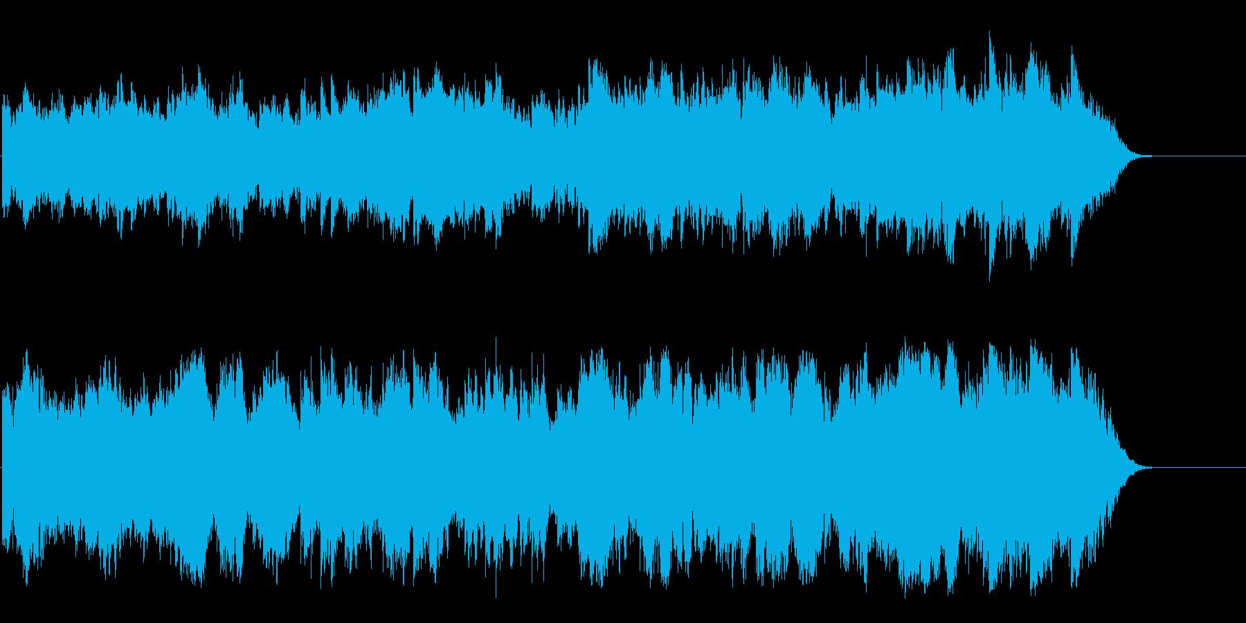 幻想的で生命力が沸いてくる壮大な環境音楽の再生済みの波形