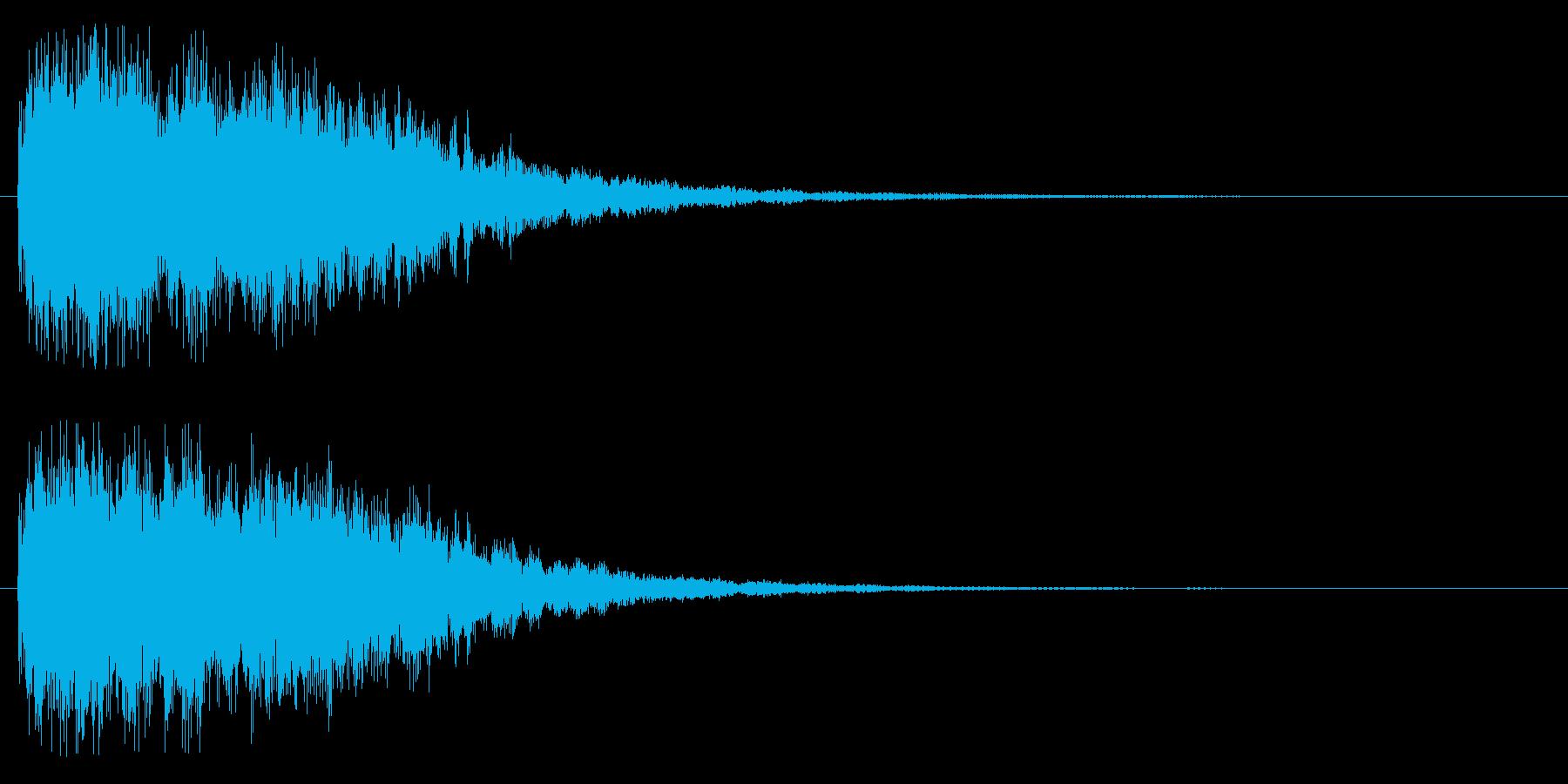 キラリーン(課題クリア)の再生済みの波形