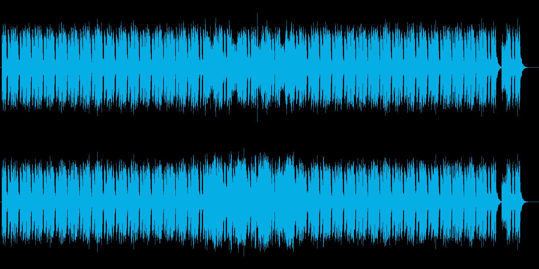 宇宙感とドキドキ感のあるシンセサウンドの再生済みの波形
