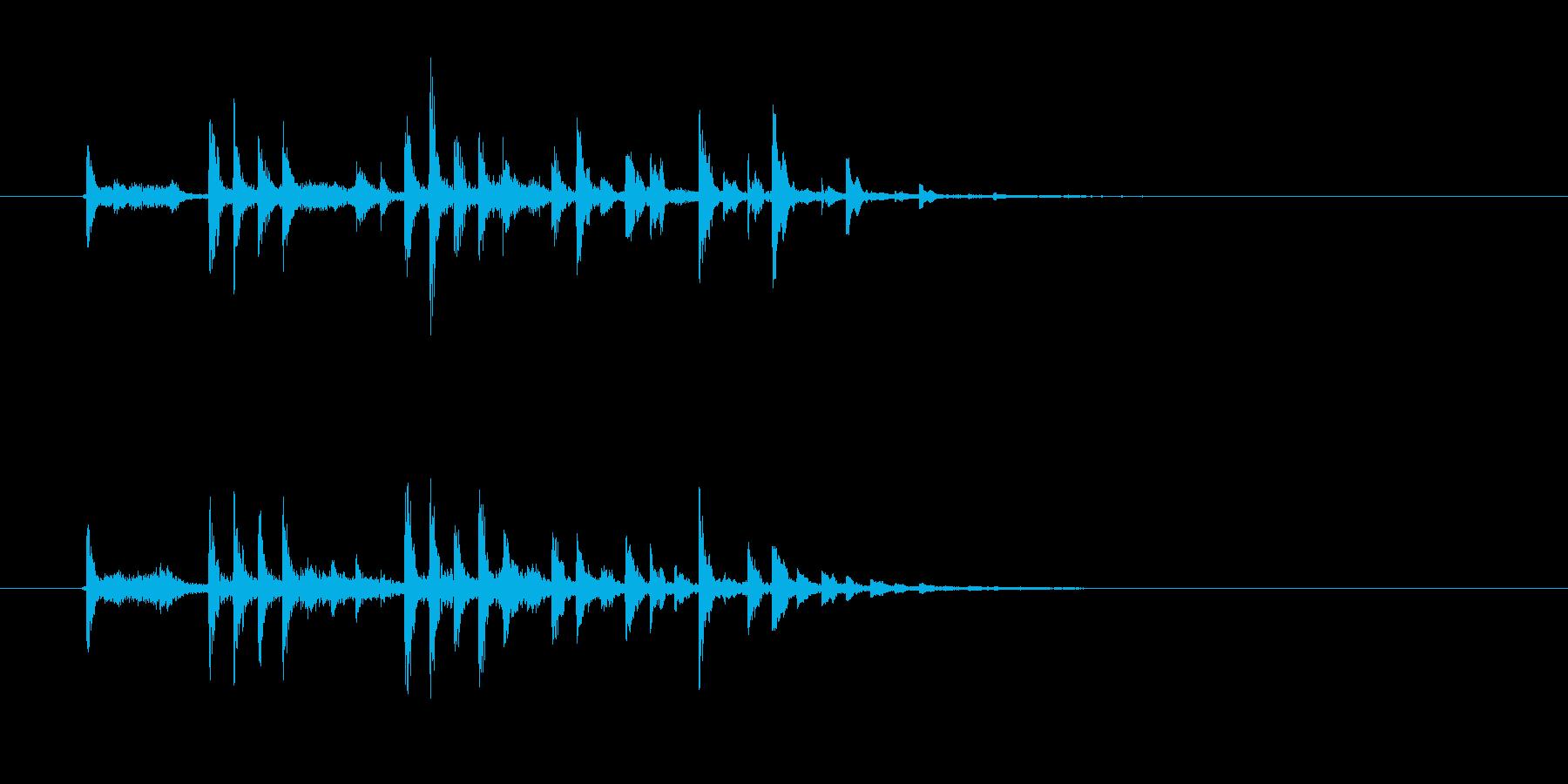 軽快でキャッチ―なSFジングルの再生済みの波形
