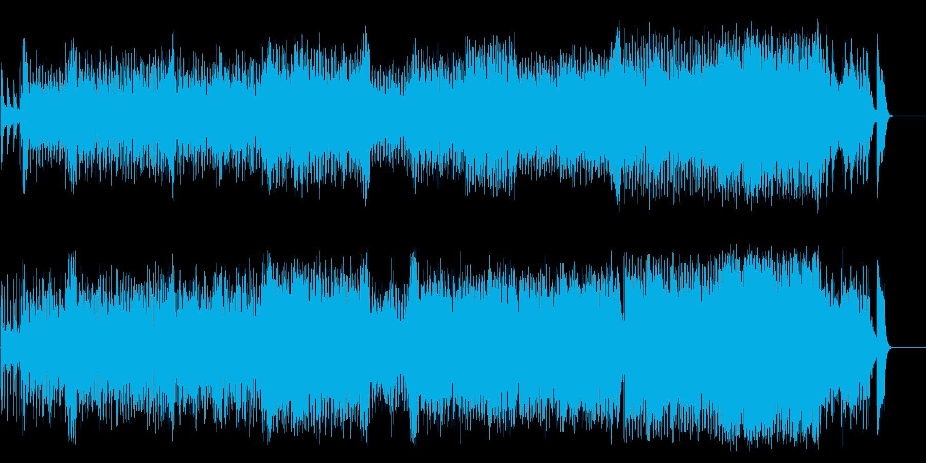 情熱的、ドラマチックフュージョン/ラテンの再生済みの波形