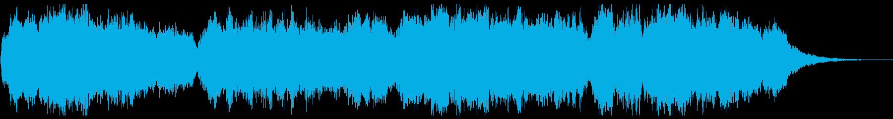 幻想的なオーケストラ 30秒イントロの再生済みの波形