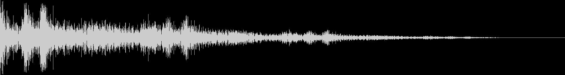 ベベン(三味線 琵琶 選択)の未再生の波形