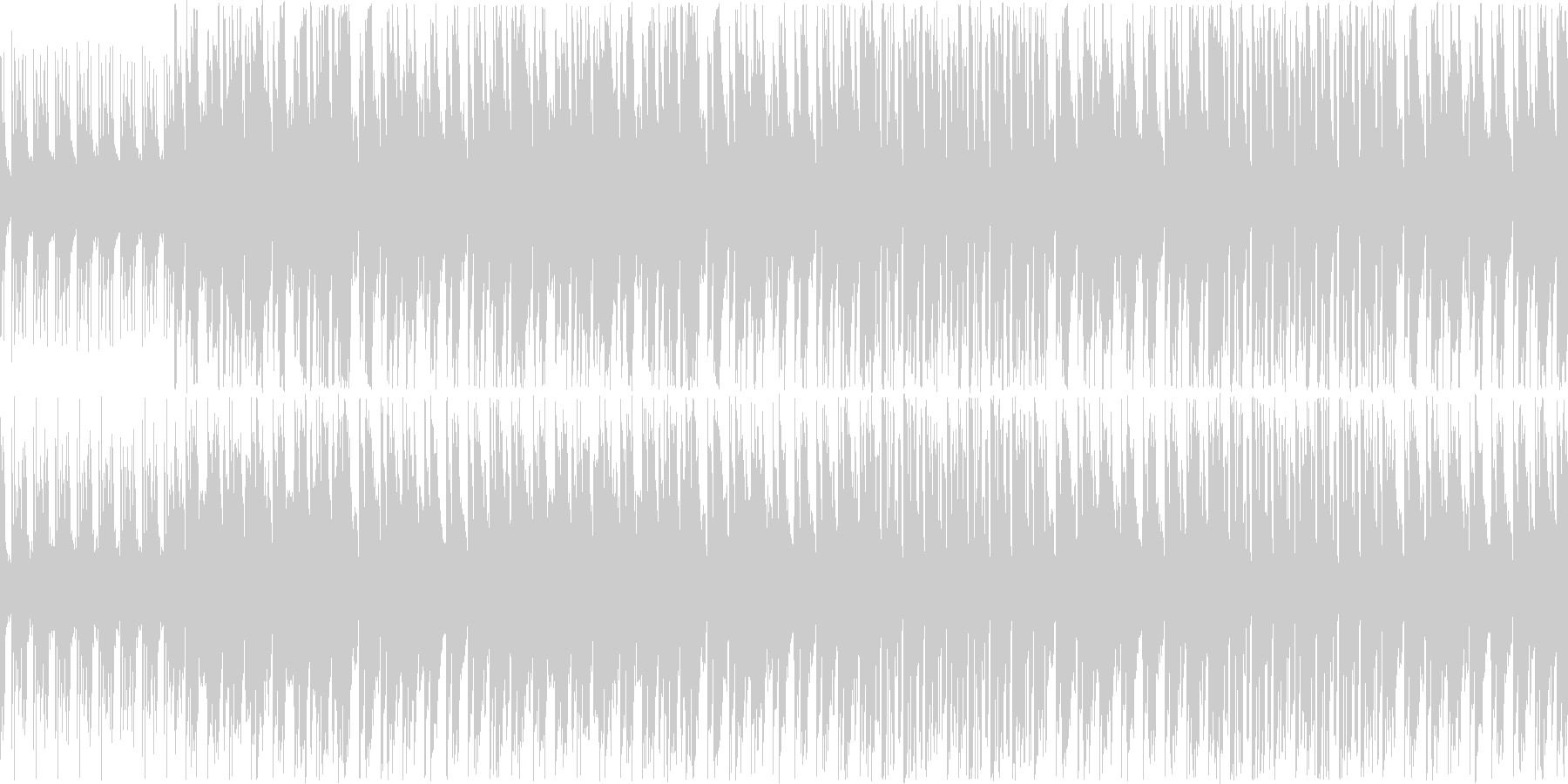 【軽快ピアノファンク】の未再生の波形